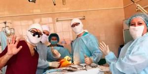 Запорожские медики транслируют операции в Instagram