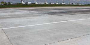 Запорожский аэропорт снова закроют на ремонт