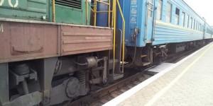 Житель Запорожской области не почувствовал ,как его переехал поезд