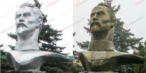 В Запорожской области Дзержинского превратили в казака (Фото)