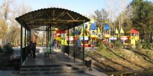 В Энергодаре реконструируют городской парк