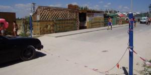 Полиция закрыла в Кирилловке пункт пропуска, на котором с отдыхающих требовали деньги