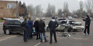 На Набережной столкнулись сразу три автомобиля (Фото)