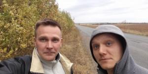 """Запорожский собкор """"СТБ"""" попал вместе с оператором под жесткий обстрел в зоне АТО"""