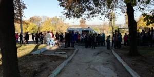 В одной из школ Запорожья снова распылили газ – детей эвакуировали