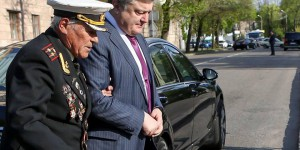 Президент лично поздравил запорожского ветерана со 100-летием