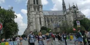 Эмигрантка из Запорожья рассказала, что будет, если пройтись по Парижу в костюме жирафа