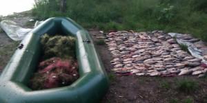 Под Запорожьем браконьер порыбачил в нерест на кругленькую сумму (Фото)