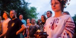 Волшебная ночь на Ивана Купала: дождь не помешал масштабному празднику на Хортице (Фото)