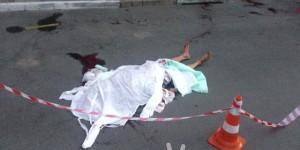 В запорожском дворе председателя ОСМД убили на глазах у всего двора
