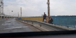 В Запорожье парень собирался прыгнуть с плотины ДнепроГЭС