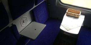 """""""Даже есть горячая вода"""": пассажирка рассказала о поездке в новом запорожском поезде-трансформере (Фото)"""
