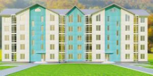 В запорожском поселке пытаются превратить недострой в жилой дом