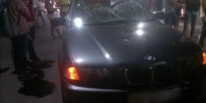 Водитель, сбивший пешехода на БМВ, кидался на свидетелей с оружием