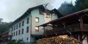 В Карпатах горит отель, где отдыхает почти 100 запорожских детей (Фото)