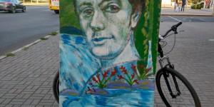 """""""Я так вижу"""": запорожский художник создал слабо узнаваемый портрет Кобзаря (Фото)"""