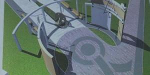 Жителям Бабурки показали, как будет выглядеть главный парк (Фото)