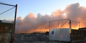 СМИ: В Пологовском районе подожгли мусорный полигон