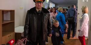 В запорожскую больницу привезли 25 детей из зоны АТО