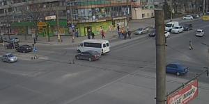 Веб-камеры Запорожья: улица Украинская (Лахти)