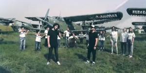 Известная украинская группа сняла в Запорожье клип на кладбище самолетов (Видео)