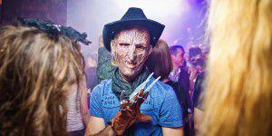 Хеллоуин в Запорожье: конкурс мумий и шоу топлес