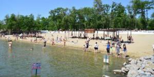 На запорожских пляжах нашли кишечную палочку