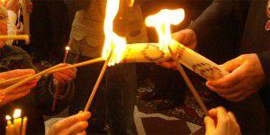 В Запорожье прибывает Вифлеемский огонь