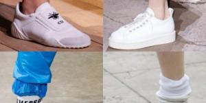 Женские кожаные кроссовки – под платье или джинсы