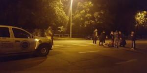 В Запорожье охранники сбили пешехода