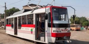 В Запорожье выходит на линию второй трамвай местной сборки