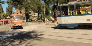 Дождались: на Кичкасе завершился многострадальный капремонт трамвайного переезда