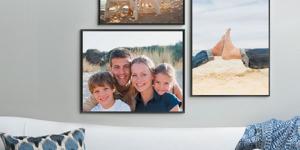 Печать фото на холсте – оригинальный подарок к любому празднику