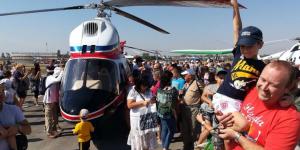В Запорожье презентовали первый вертолет собственного производства