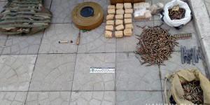 В кафе на Бабурке хранили противотанковую гранату и несколько тысяч патронов