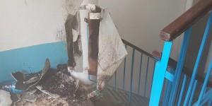 На запорожском курорте в многоэтажке прогремел взрыв